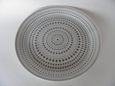 Kulku Dinner Plate grey