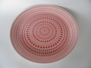 Kulku Dinner Plate red Iittala