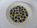 Blueberry Plate Arabia