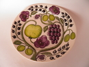 Paratiisi Dinner Plate purple Arabia