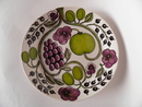 Paratiisi Salad Plate purple Arabia