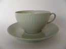 Sointu Tea Cup and Saucer lightgreen Arabia