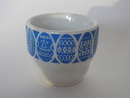 Kauno Eggcup blue Arabia SOLD OUT