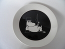 Moomin Plate Moominpappa 2-sides