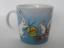 Knitting Bunny Mug H Liukko-Sundström