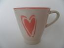 Mug pink Heart Pentik