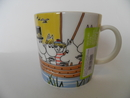 Moomin Mug Sailing with Nibling and Tooticky