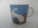 The Fishing Rabbit Mug H Liukko-Sundström