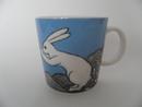 The Fishing Rabbit Mug H Liukko-Sundström