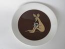 Muumi-lautanen Ruskea Nipsu 2-puoleinen