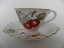 Cascara Coffee cup and Saucer