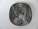 Moomin Wall Plate Snufkin and Little My SOLD OUT
