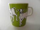 Iltavilli Mug Green Marimekko SOLD OUT