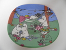 Moomin Wall Plate Happy Together