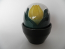 Flower Pot Yellow Tulip