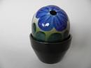 Flower Pot Blue Saintpaulia