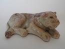 Leijona -figuuri Kupittaan savi MYYTY