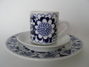 Gardenia Coffee Cup, Saucer and Side Plate