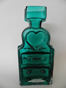 Piironki Vase turquoise Helena Tynell SOLD OUT