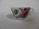 Valmu Tea Cup and Saucer Arabia