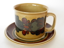 Otso big Mug and Saucer Arabia