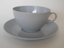 Sointu Tea Cup and Saucer blue-grey Arabia