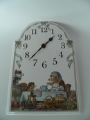 Foxwood Tales Wall Clock V&B