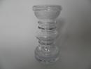 Carmen Vase/Candleholder clear glass