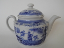 Singapore Tea Pot blue small Arabia