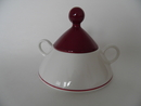 Harlekin Red Hat Sugar Bowl