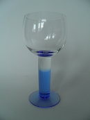 Mondo White wine glass blue Iittala