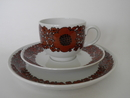 Suhina Coffee Cup & Saucer & Side Plate Arabia SOLD OUT