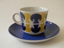 Bolete Coffee Cup and Saucer