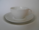 Domino Coffee cup and 2 Plates Arabia