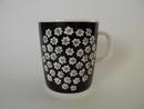 Puketti Mug White Flowers Marimekko