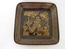 Emilia Square Plate black-gold Raija Uosikkinen SOLD