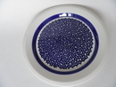 Faenza Salad Plate blue Flowers SOLD