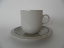Airisto Teacup and Saucer high model Arabia