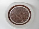Faenza ruskeakukkainen matala ruokalautanen Arabia MYYTY