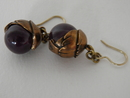 Tintti Earrings lilac Kalevala Koru SOLD OUT