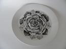 Musta Ruusu Dinner Plate Arabia