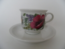 Valmu Coffee Cup and Saucer Arabia