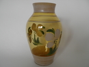 Vase big light yellow