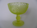 Grapponia Footed Serving Bowl yellow