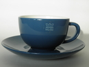 24h Arabia Blue Tea Cup and Saucer