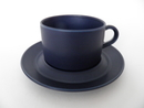 Blues Tea cup and Saucer blue Arabia