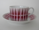Revontuli coffee cup with saucer Raija Uosikkinen Arabia