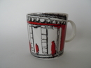 Finnish Parliament Mug red