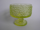 Jesper Footed Dessert Bowl yellow Erkkitapio Siiroinen