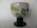 Zeebra footed Serving Bowl SOLD OOUT